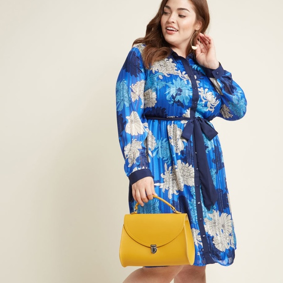 Lace & Mesh Dresses & Skirts - Modcloth Bosses Who Brunch Shirt Dress